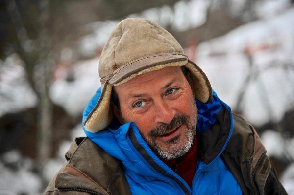 François, musher passionné, Vailly, Alpes du Léman