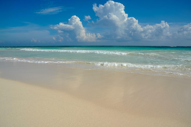 plage de playa del Carmen Riviera maya mexique