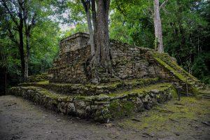 Ruines de Muyil Quintana Roo Yucatan