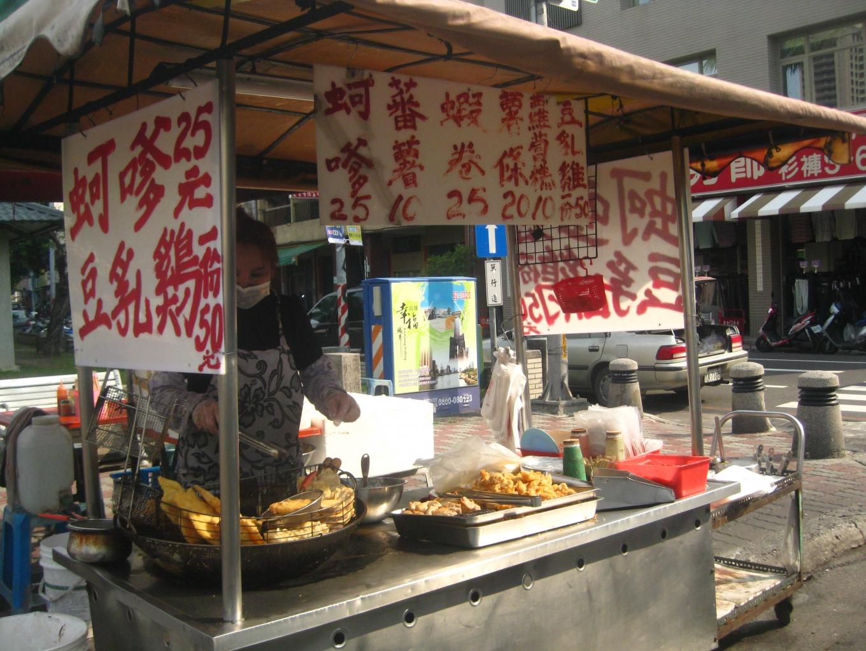 Taïwan étal marché la grande déroute