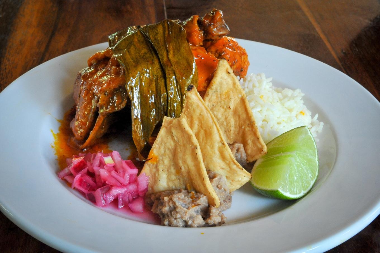 pollo pibil mexique muyil