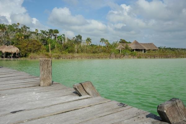 laguna kaan luum Yucatan