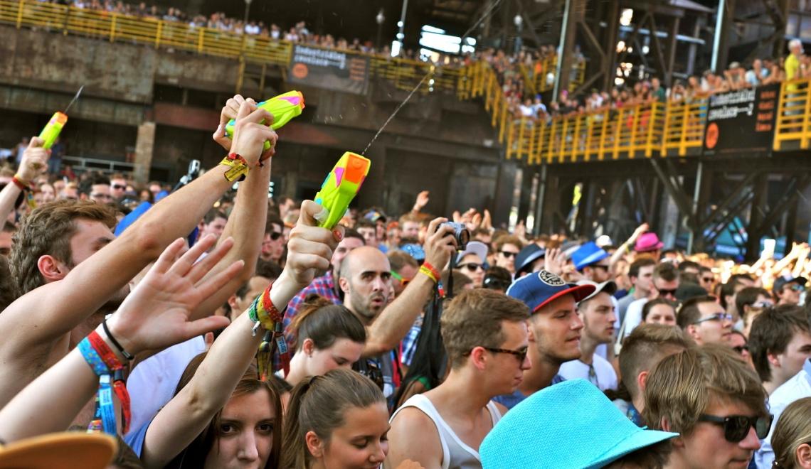 Colours of Ostrava, festival de musique en République Tchèque