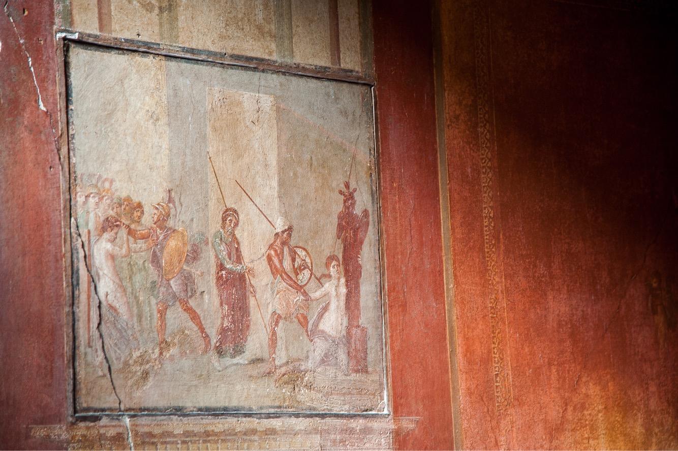 fresque-pompei-italie