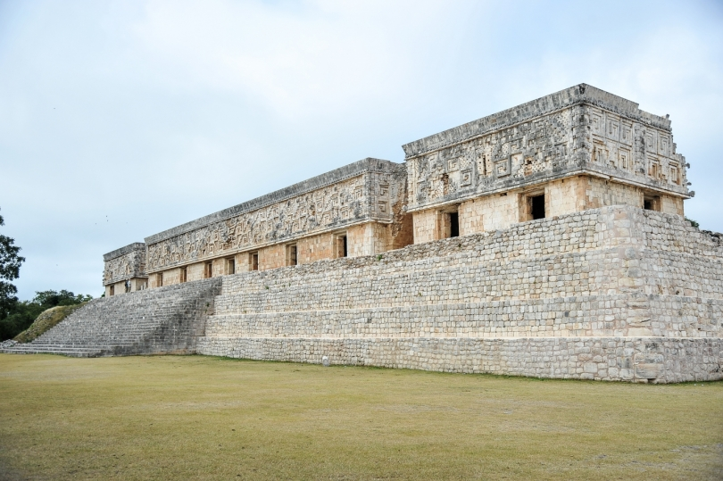 Temple maya d'Uxmal, site historique