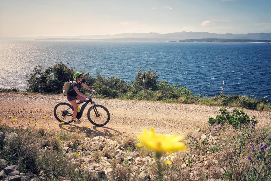 Cyclotourisme en Croatie, Brac