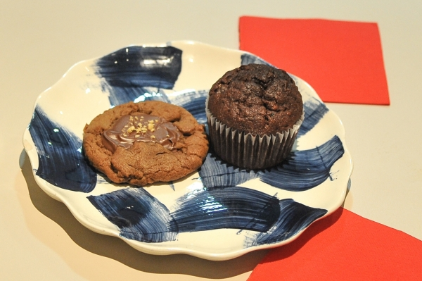 Muffin chocolat courgette de Jean Hwang Carrant