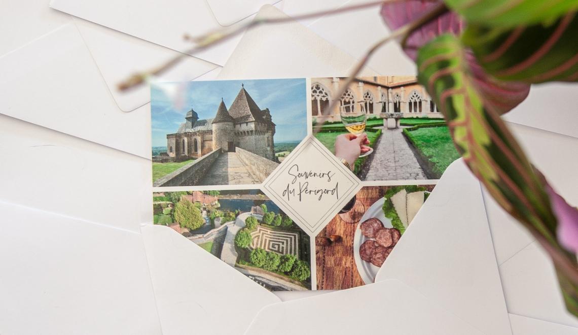 Créer des cartes postales personnalisables grâce à Popcarte - Les Baroudeurs