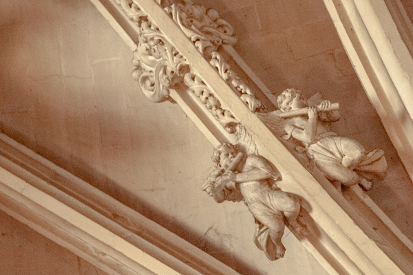 Détail de l'Eglise Notre-Dame, Mortagne au Perche