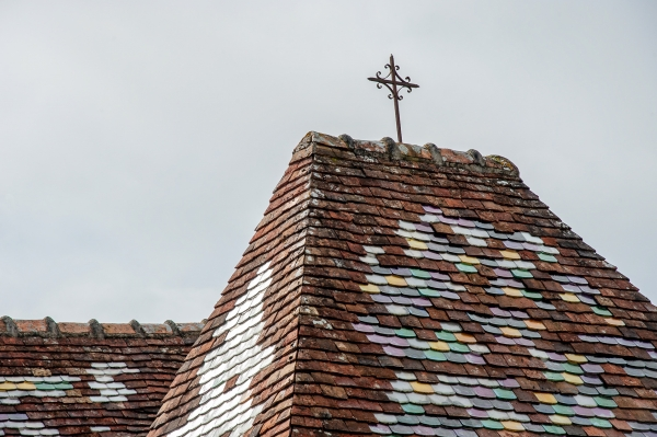 Clocher de l'eglise Saint Vigor, Saint-Martin du Mieux