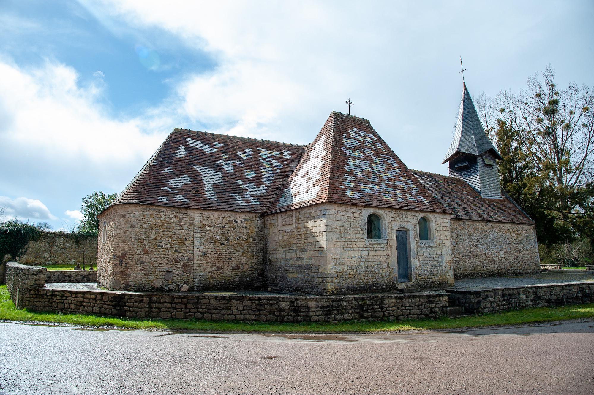 Eglise Saint Vigor, Saint Martin du Mieux