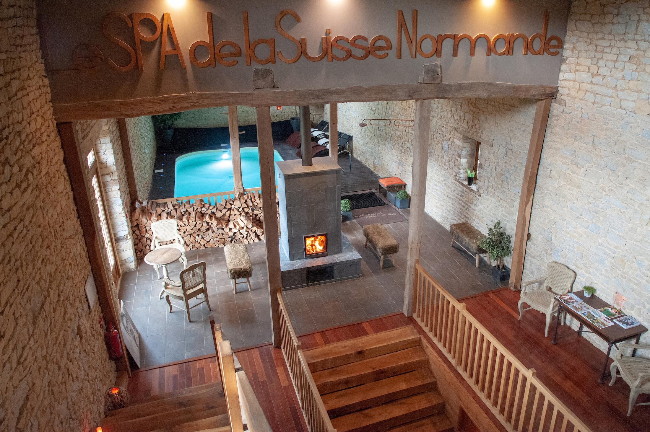 Le spa du Domaine de la Pommeraye, Normandie