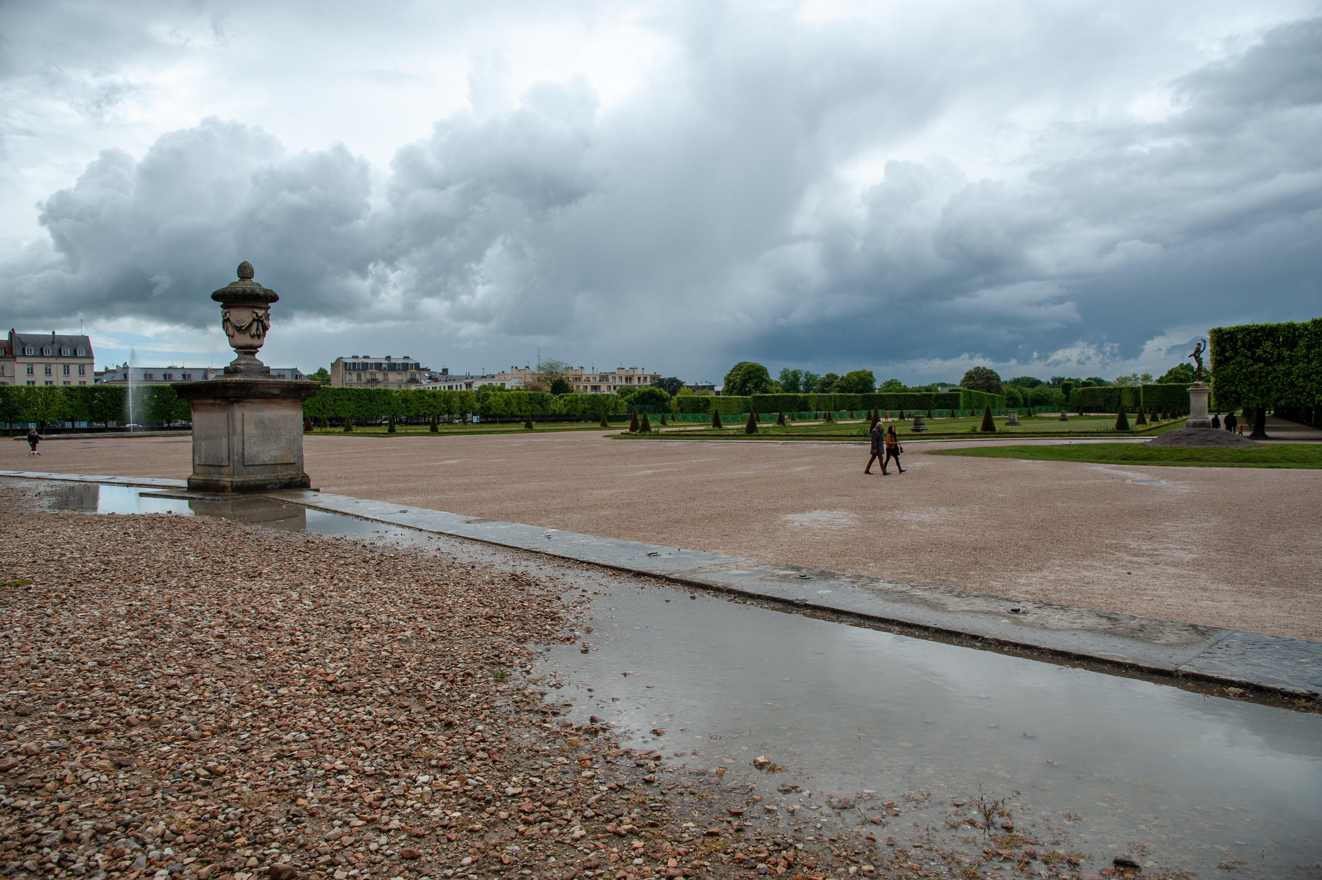 Jardins du chateau de Saint-Germain-en-Laye, Ile de France
