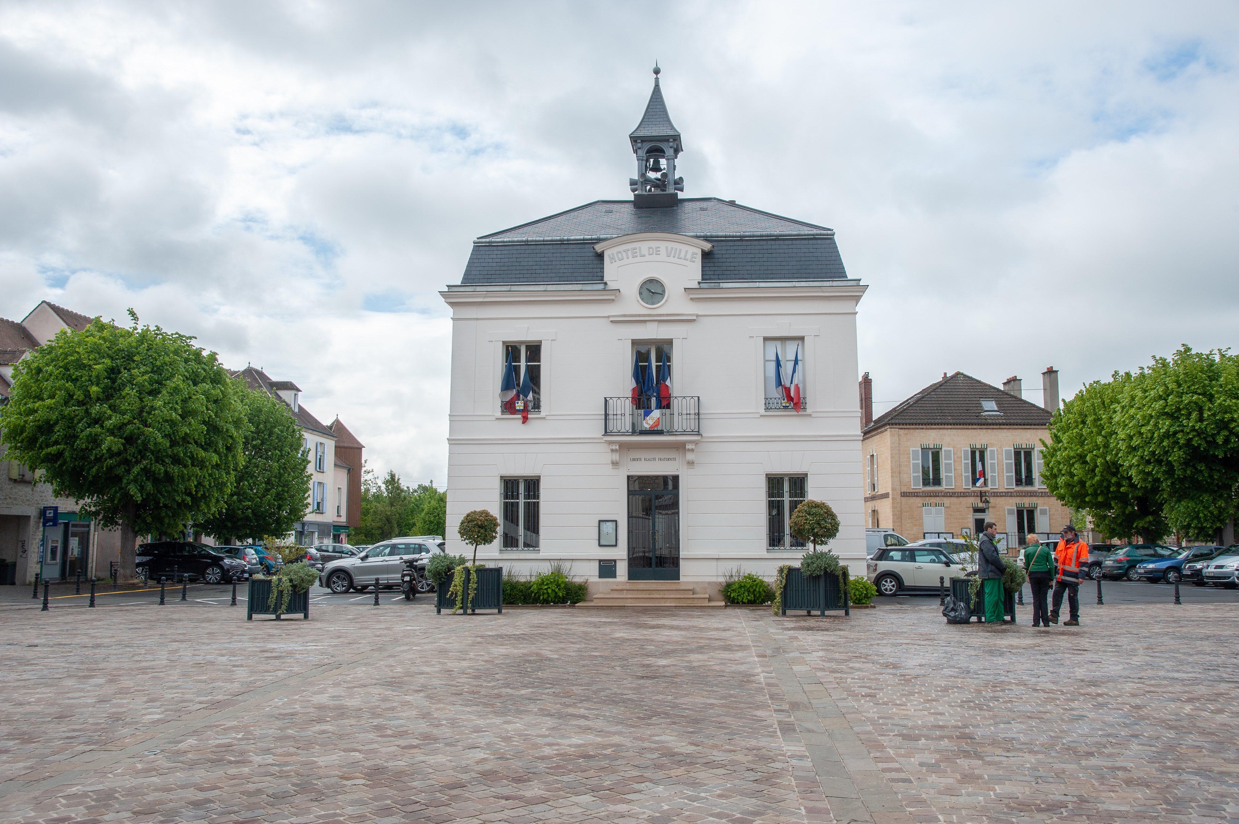 Mairie d'Auvers-sur-Oise, Ile de France