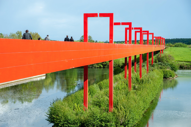 Pont de l'Axe Majeur, Cergy