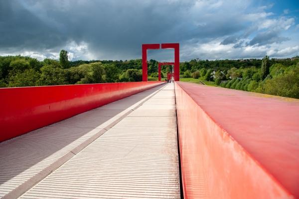 Pont de l'Axe Majeur, Ile de France