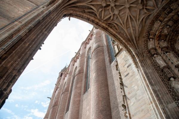 Arche de la cathedrale Sainte-Cecile, Albi
