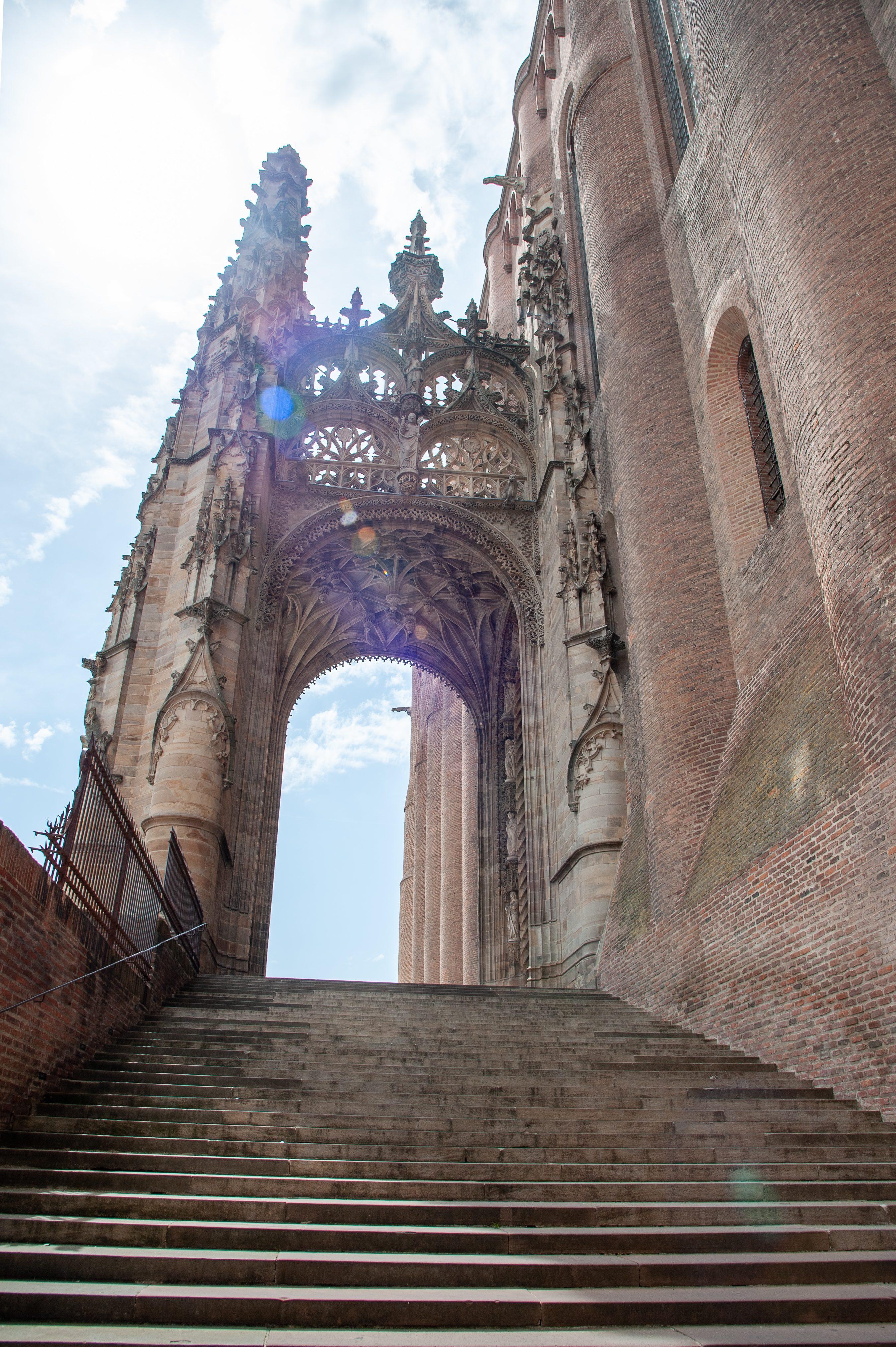 Arche de la cathedrale Sainte-Cecile, Albi, Tarn