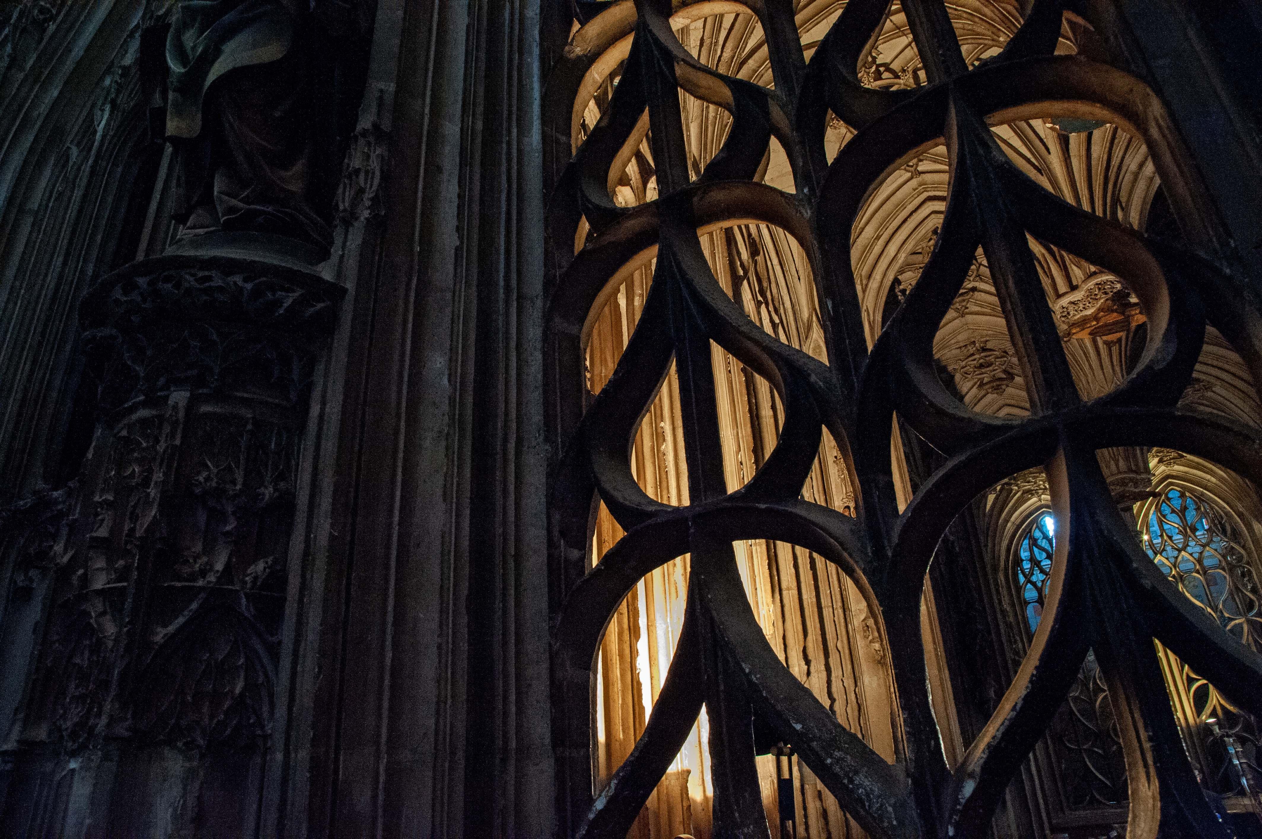 Detail de la cathedrale Sainte-Cecile, Albi