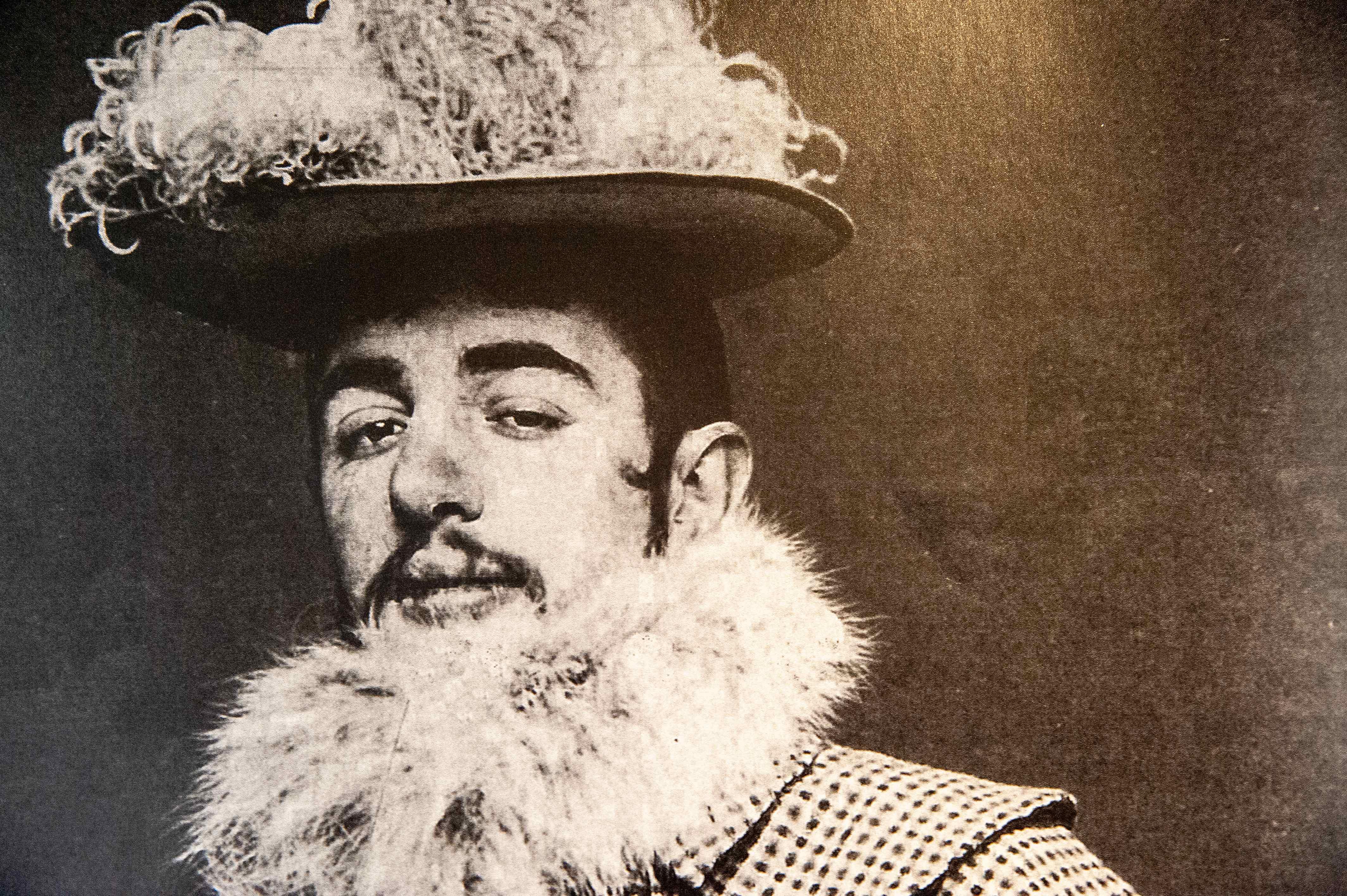 Portrait de Toulouse-Lautrec, musee d'Albi