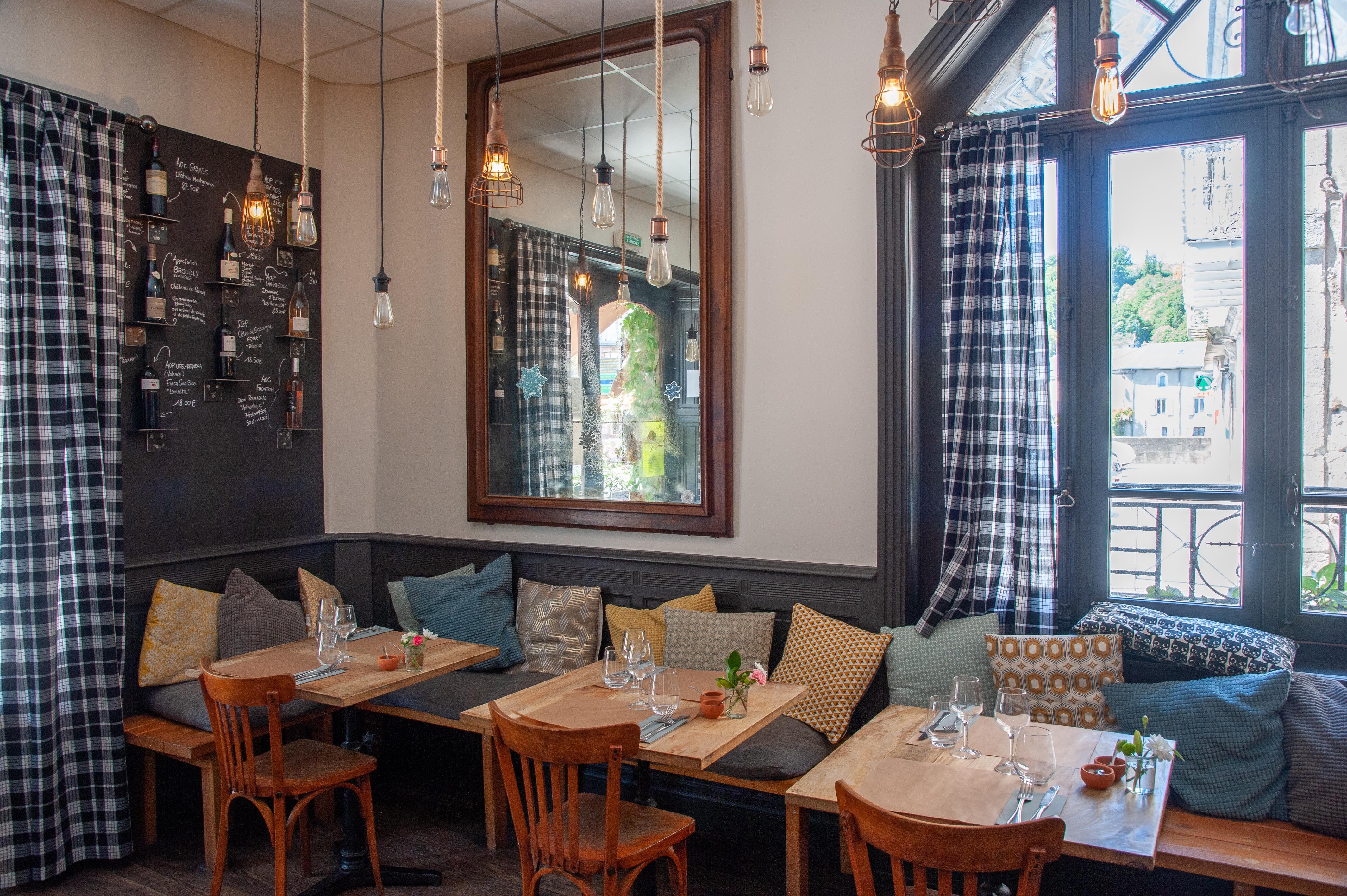 Déjeuner au Café de Paris, Brassac, Tarn
