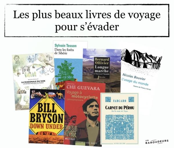 Les plus beaux livres de voyage pour s'évader